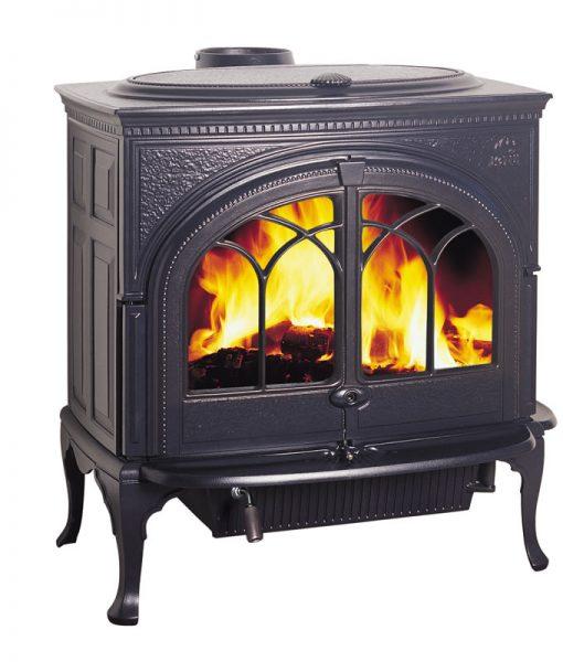 Jotul F600 Firelight Large Cast Iron Wood Stove