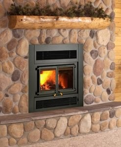 Kozy Heat Z42 Cast Doors Fireplace