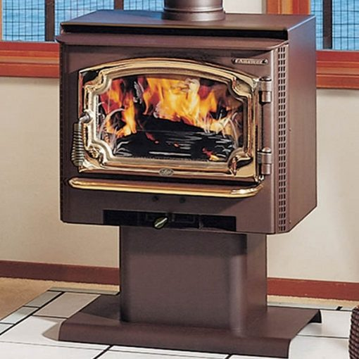 Pleasant Lopi Answer Wood Stove Evergreen Home Hearth Complete Home Design Collection Barbaintelli Responsecom