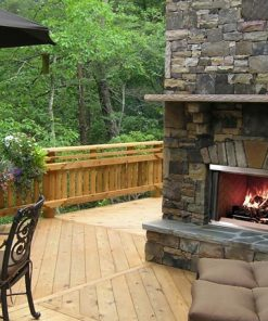 Outdoor Fireplace Banner