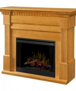 Dimplex Christina BuiltRite Mantel Only with Rift Oak