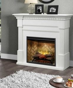 Dimplex Christina BuiltRite Mantel Only with White Finish
