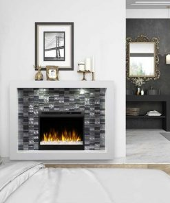 Dimplex Crystal Mantel Electric Fireplace