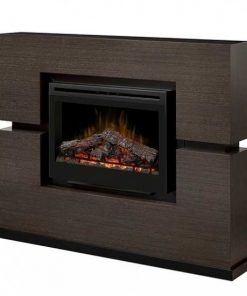 Dimplex Linwood Mantel with Electric Firebox and Log Set