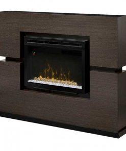 Dimplex Linwood Mantel with Multi-Fire XD Electric Firebox, Acrylic Ice