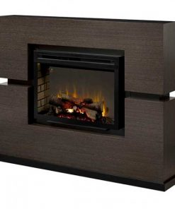 Dimplex Linwood Mantel with Multi-Fire XD Electric Firebox and Log Set