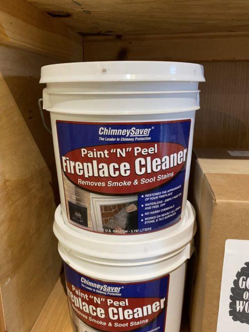 """Paint """"N"""" Peel Fireplace Cleaner"""