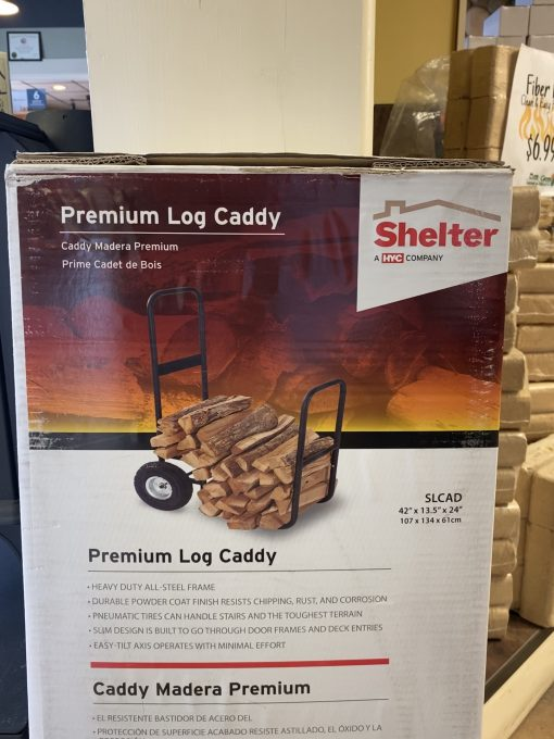Premium Log Caddy