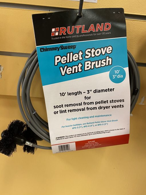10' Pellet Stove Vent Brush