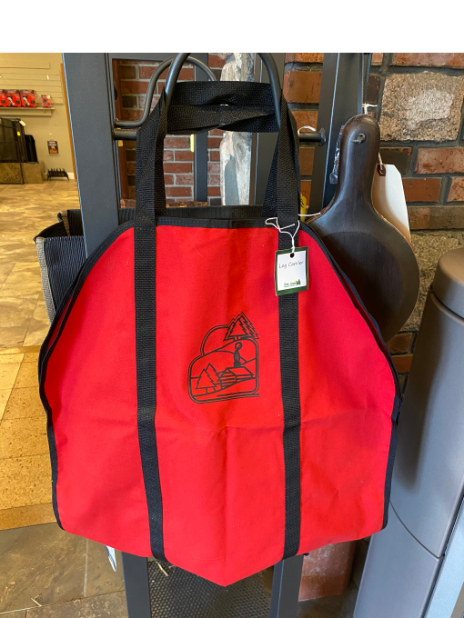 Red Log Tote