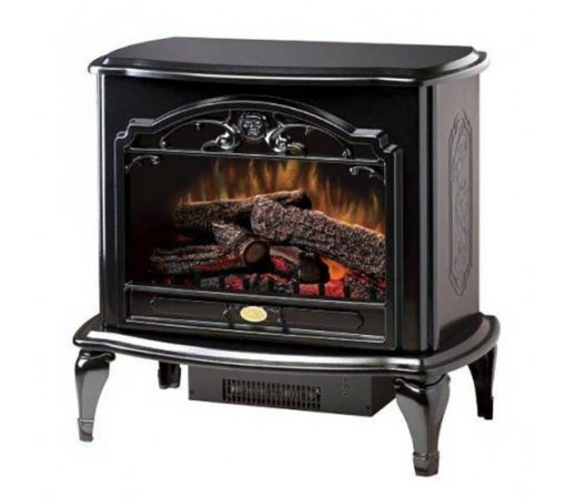 Dimplex Celeste Electric Stove with Black Gloss Finish