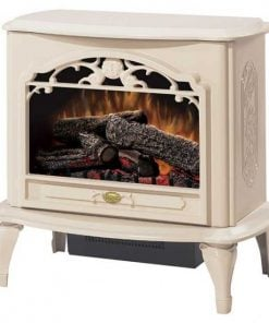 Dimplex Celeste Electric Stove with Cream Gloss Finish