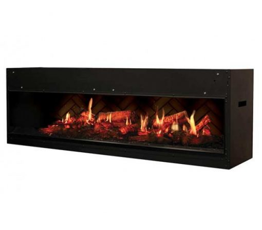 "Dimplex 54"" Opti-V Duet Linear Built-in Fireplace"