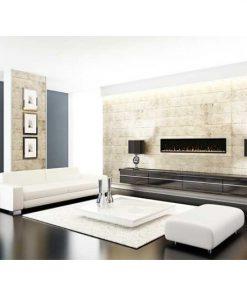 "Dimplex IgniteXL 74"" Linear Electric Fireplace"