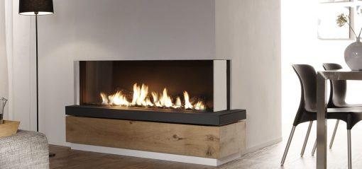 EH Bidore 140 Corner Style Gas Fireplace