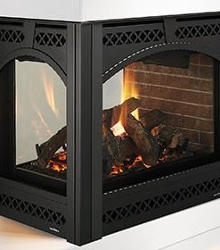 Heat & Glo PIER SEE THROUGH GAS FIREPLACE