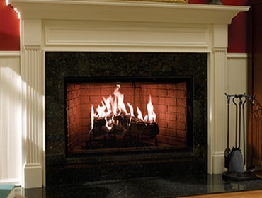 ROYAL HEARTH WOOD FIREPLACE