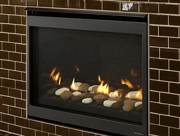 Heat & Glo SLIMLINE FUSION SERIES GAS FIREPLACE