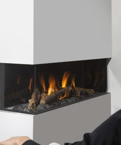 EH Summon 140 C Corner Style Gas Fireplace