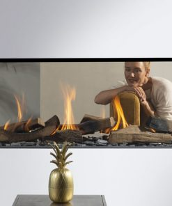 EH Summon 140 T See-Through Gas Fireplace